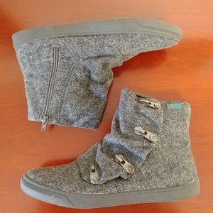 Blowfish gray slouch boot